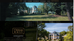 chateau rauly screen site internet