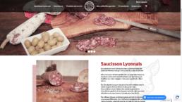 Saucisson lyonnais site e-commerce