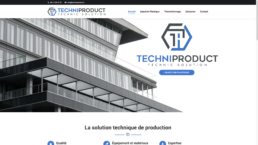 techniproduct screenshot site internet